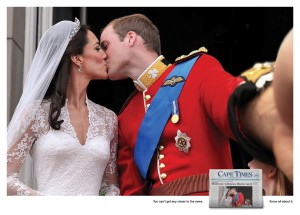 Cape Times - Royal selfies