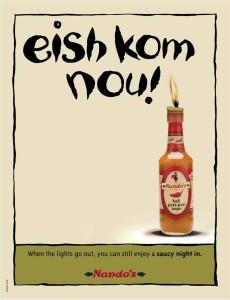 Nandos - Eskom Ad Campaign