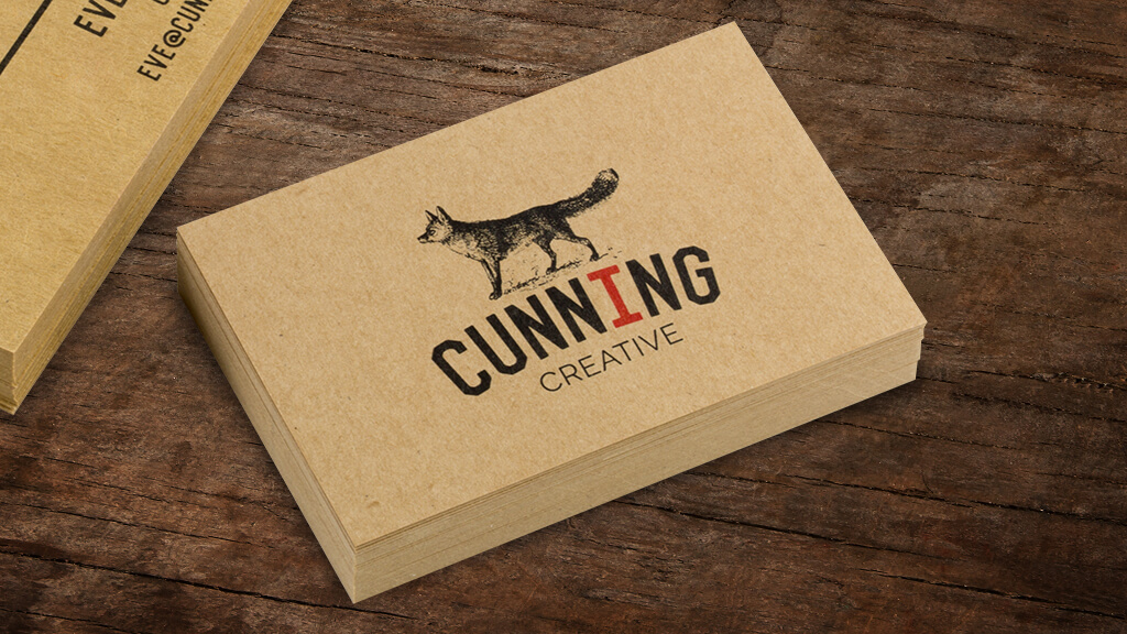Colour Meanings and Business Card Design - Brown