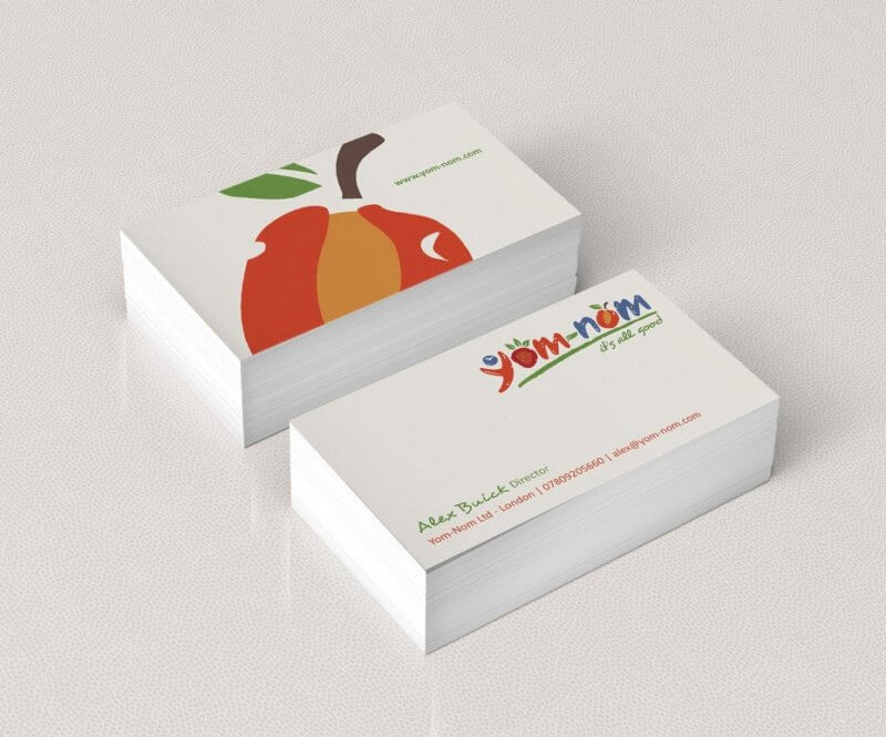 Colour Meanings and Business Card Design - White